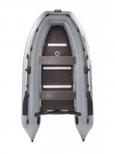 Фото лодки Пиранья 340 Q5 SL со стрингерами килевая
